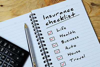 End of the Year Insurance Checklist